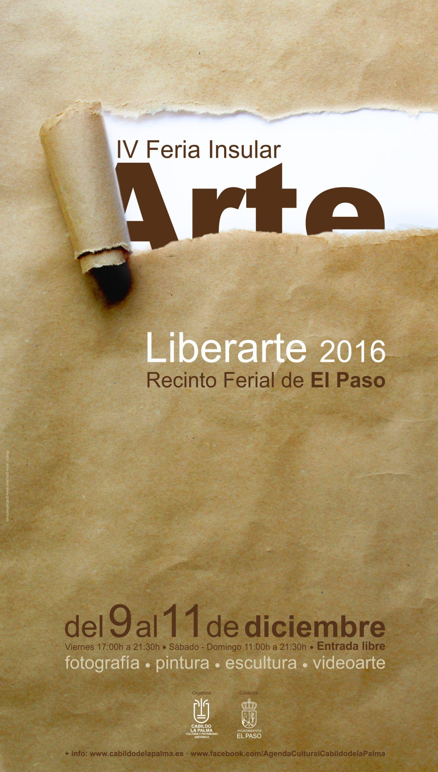 Cartel Liberarte 2016